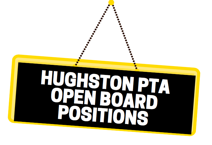 Hughston PTA Open Board Positions